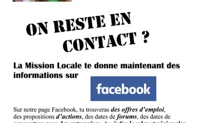 La mission locale sur Facebook
