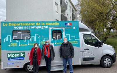 Un Bus France Services Moselle à Petite-Rosselle