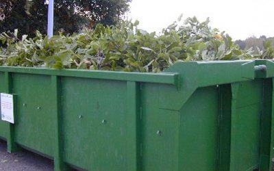 Bennes à déchets verts