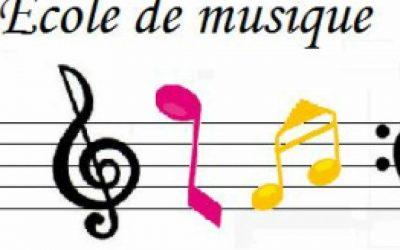 Fermeture de l'Ecole de musique
